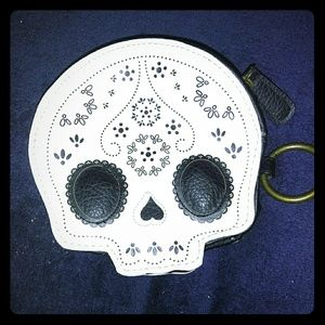 Loungefly skull wallet small